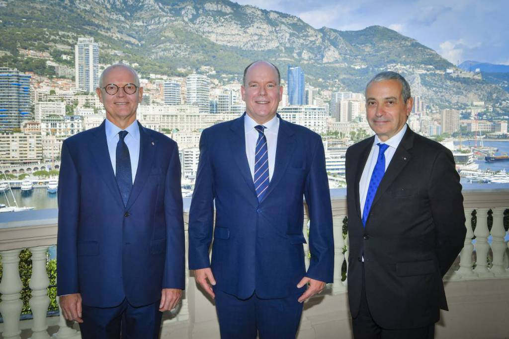 Accreditation of the Ambassador of France to Monaco