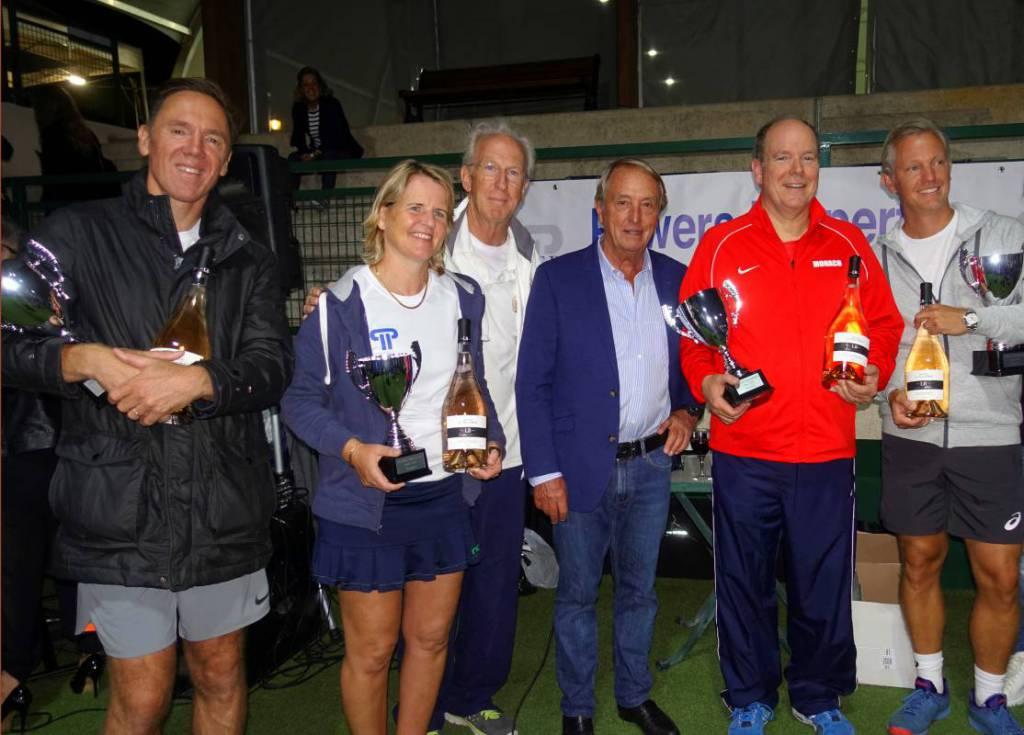 Prince Albert wins Powers Padel Tournament