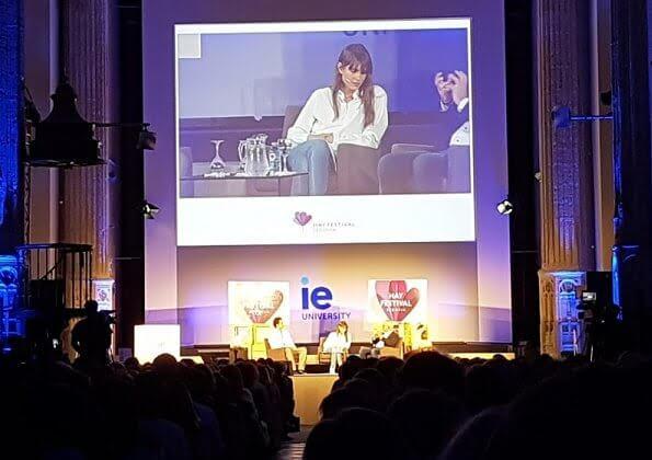 Charlotte Casiraghi attended Hay Festival Segovia 2019