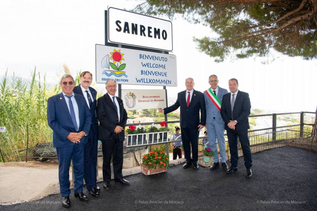 The Prince Visits San Remo