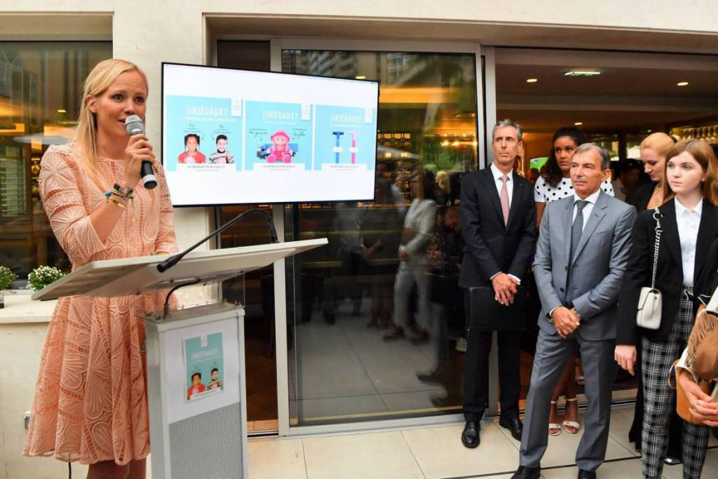 """Pledge for Equality""launched by SheCanHeCan Monaco"