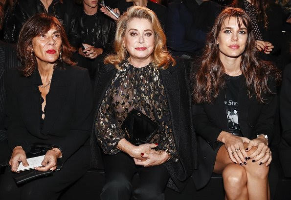 Charlotte Casiraghi attended Paris Fashion Week 2019