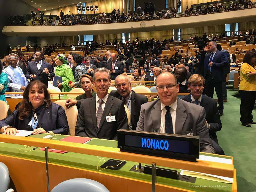Prince Albert speaks at UN Climate Action Summit 2019