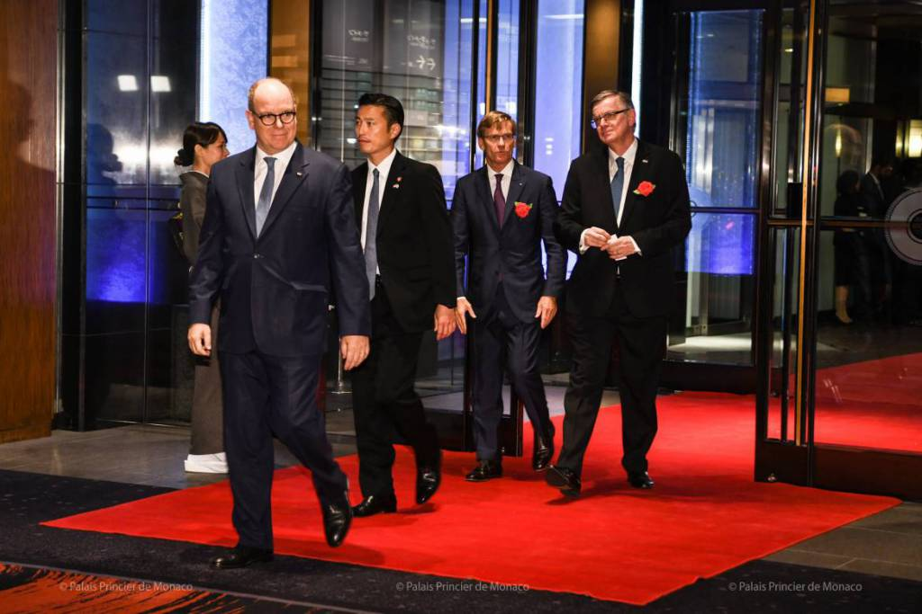 Prince Albert attends Enthronement of the Japanese Emperor