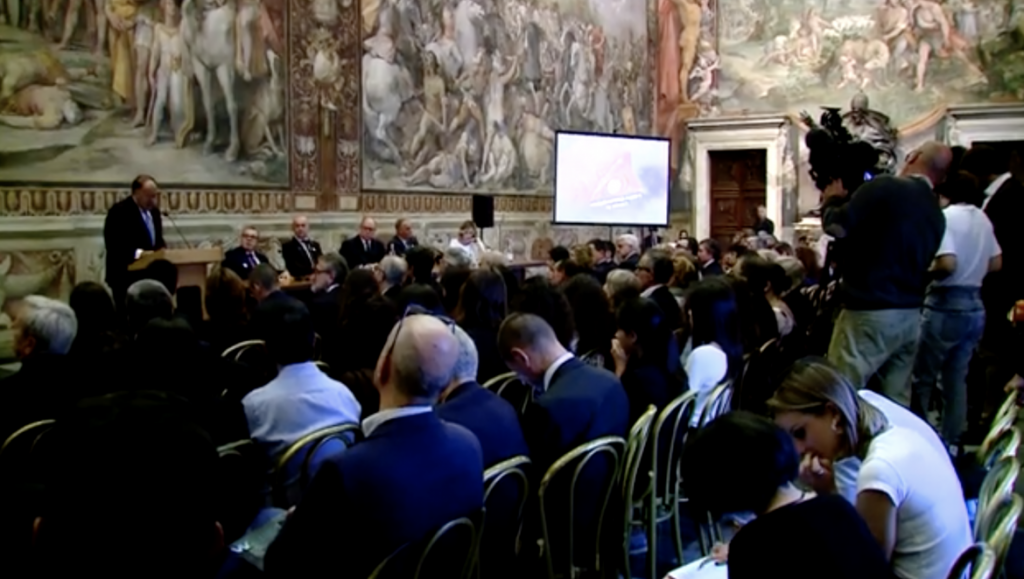 Prince speaks in Rome about Cities and the Environment