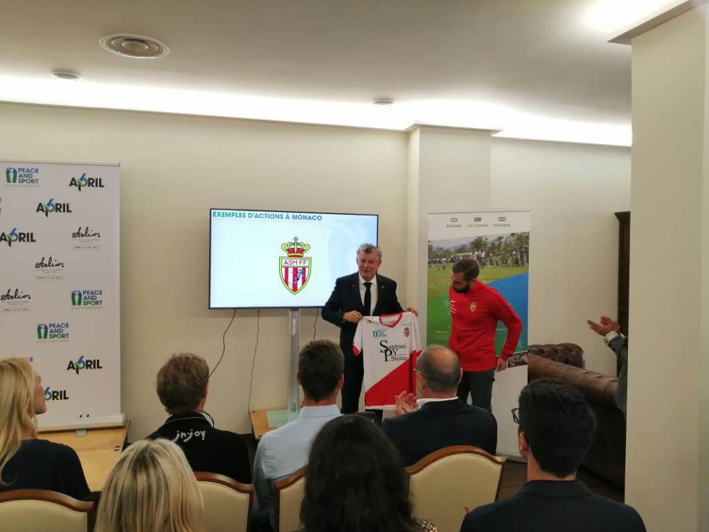 Peace and Sport relaunched from Monaco