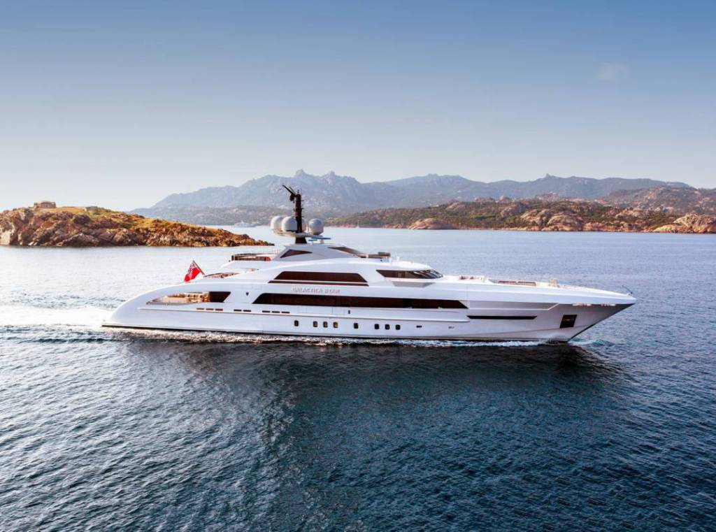 New beginning: 65m Galactica Star enters charter market renamed Illusion