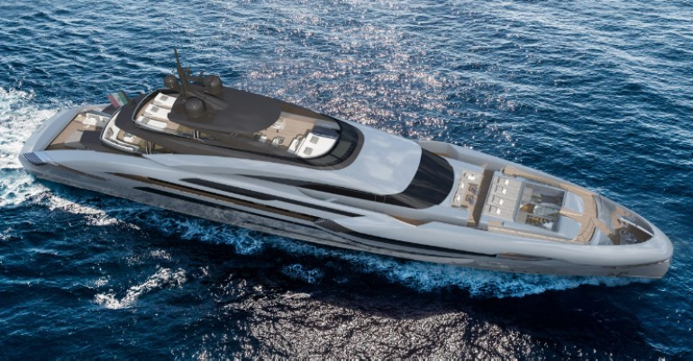 ALFA 50 superyacht concept by Rossinavi and Enrico Gobbi