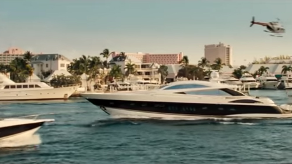 Orignial James Bond superyacht Casino Royale