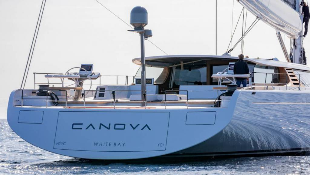 First superyacht ever with DSS technology: Baltic delivers 43m Canova