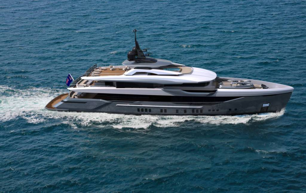 Bilgin introduces new 50m on spec superyacht project