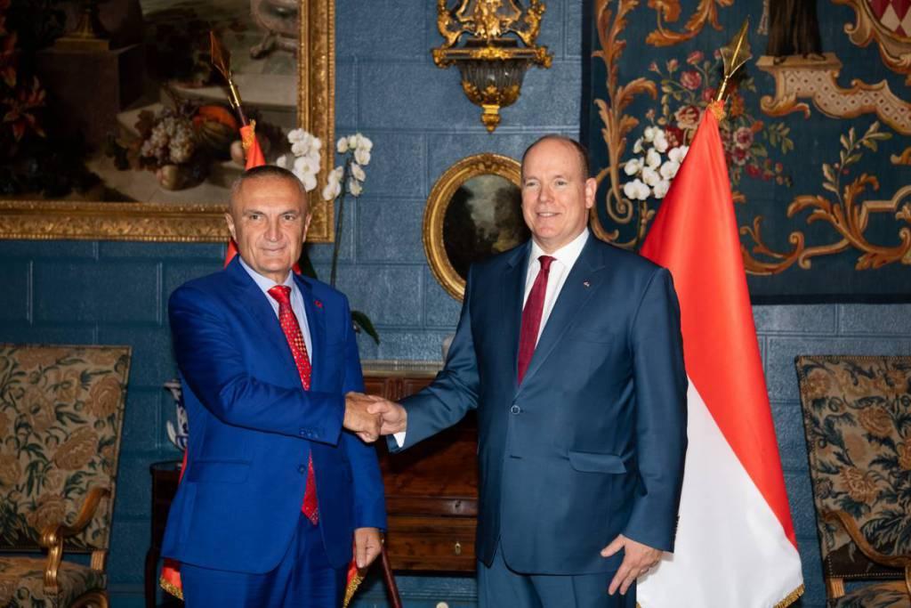 President of Albania visits Monaco