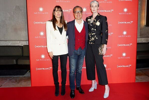 Charlotte Casiraghi attended the Montblanc (RED) event