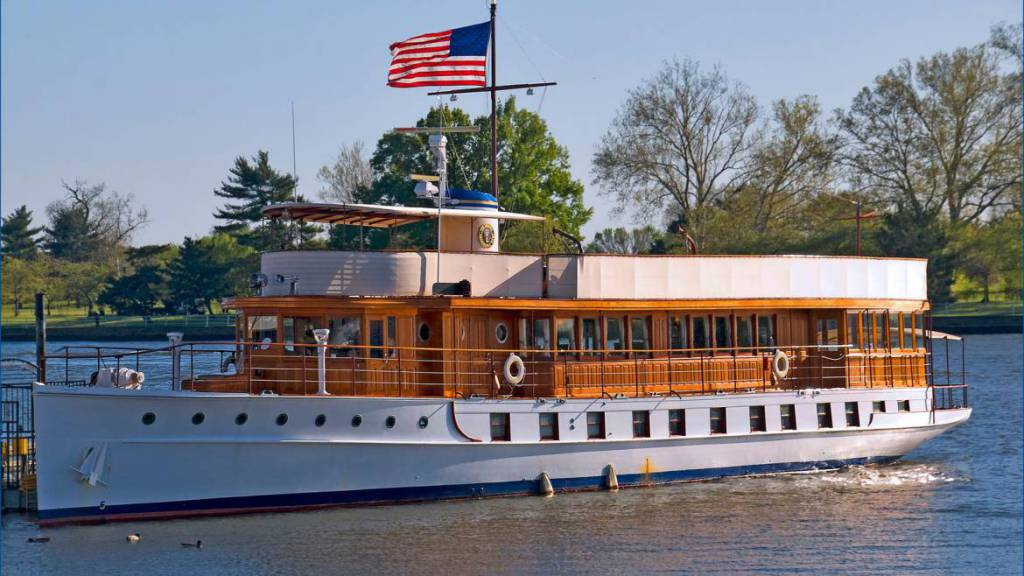 The 20th century US Presidential Yacht Sequoia to be restored