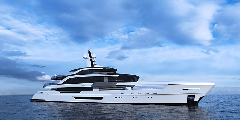 62m superyacht project Nautilus introduced by Turquoise Yachts