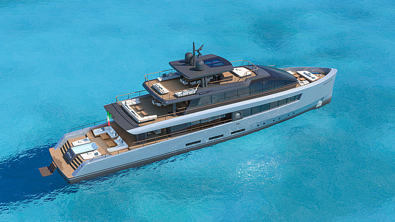Baglietto presents 40m superyacht concept Abaco as part of Hurricane Dorian humanitarian initiative