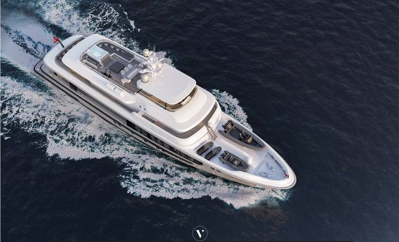 Nordhavn introduces 45m flagship explorer with Vripack design