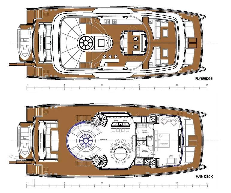 Turkish builder Licia Yachts introduces 24m explorer catamaran concept