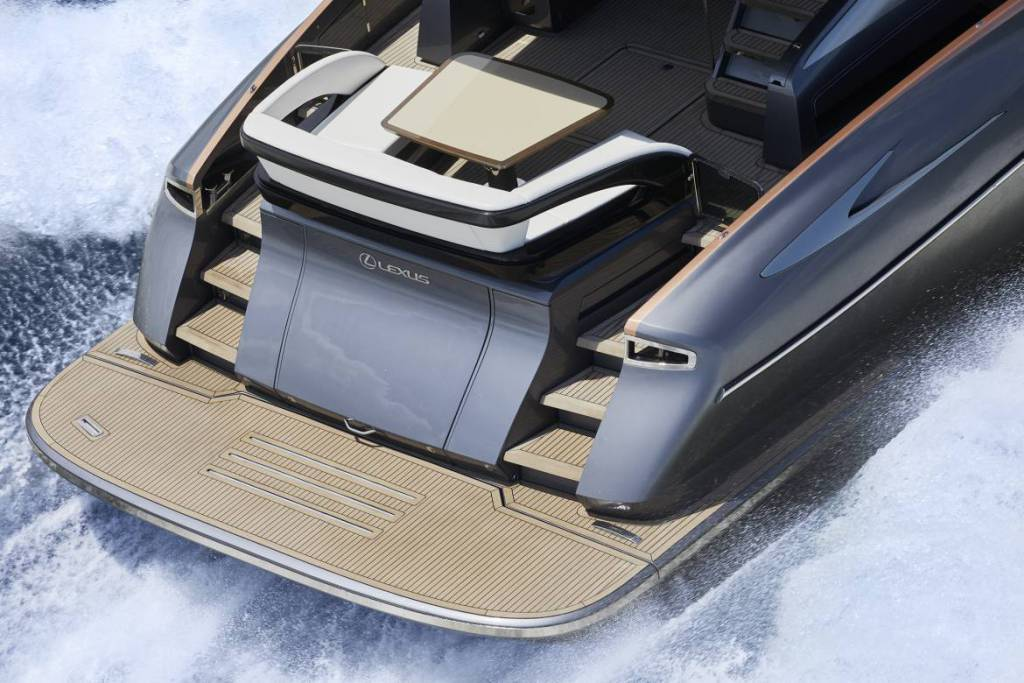 Lexus premieres first LY 650 yacht