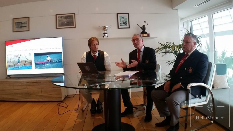 Challenge Prince Albert II: international coastal rowing race off the Monegasque coast