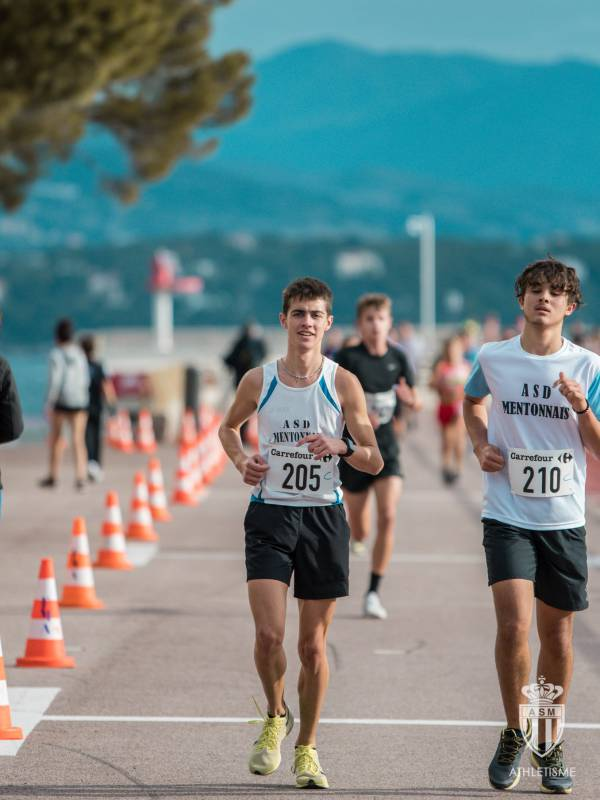 Racing Across Larvotto