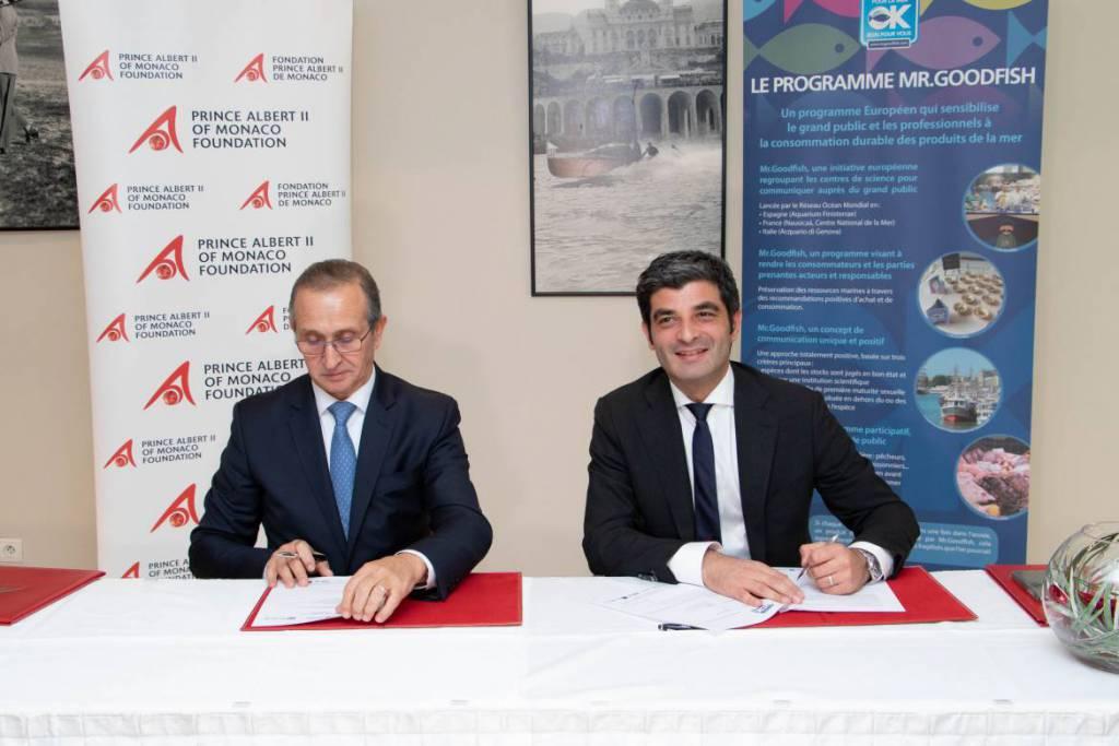 "afe de Paris and ""Mr. Goodfish"" Unite to Preserve Marine Species"