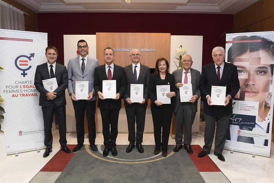 Signing of the Charter for Equality between Women and Men at Work