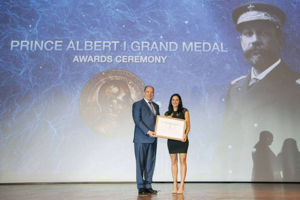The Prestigious «Albert I» Medals for services to protect the Oceans
