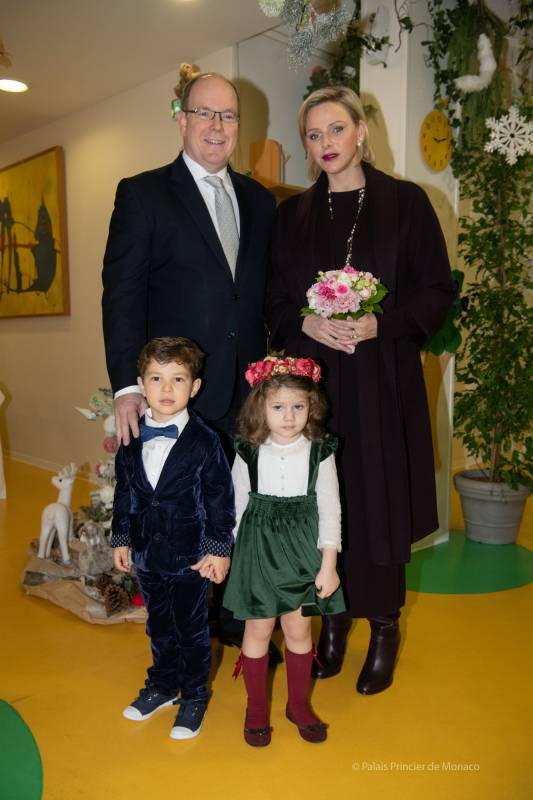 Princely Christmas for Monegasque Children