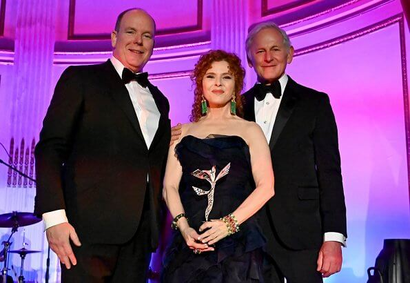 Prince Albert attends Princess Grace Awards Gala in New York