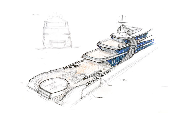 Rosetti reveals 65m superyacht concept Project Orca