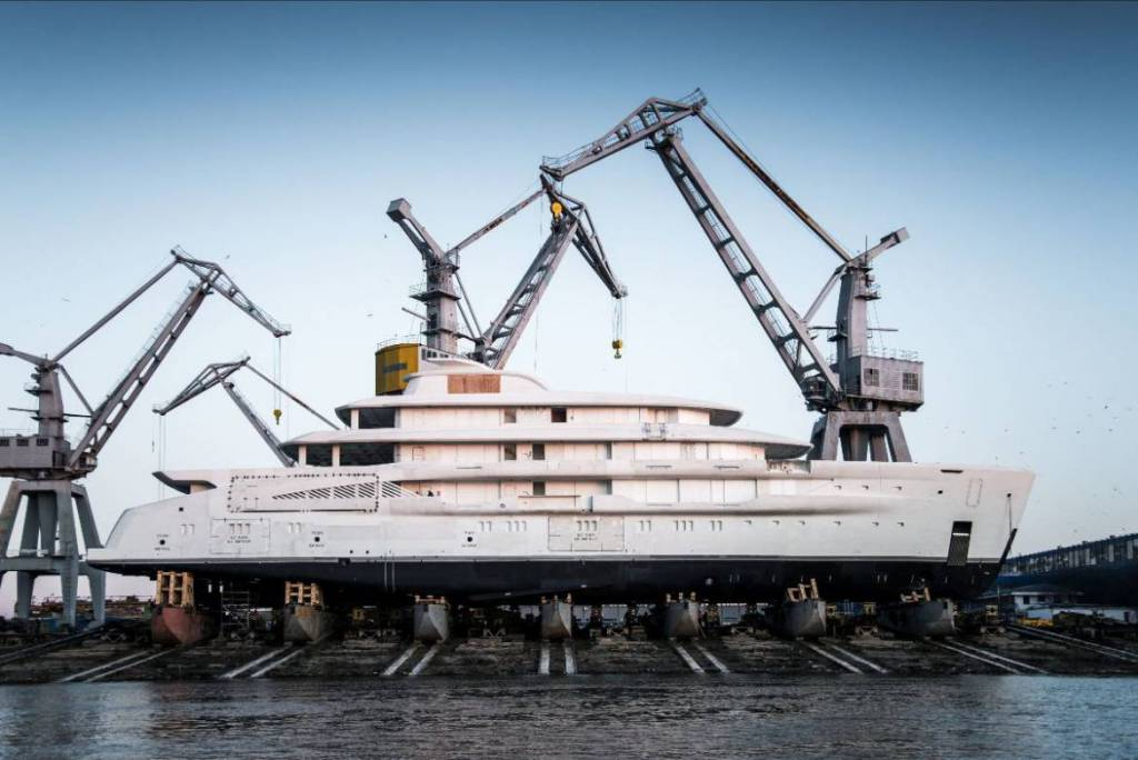 Amels launches its largest superyacht to date