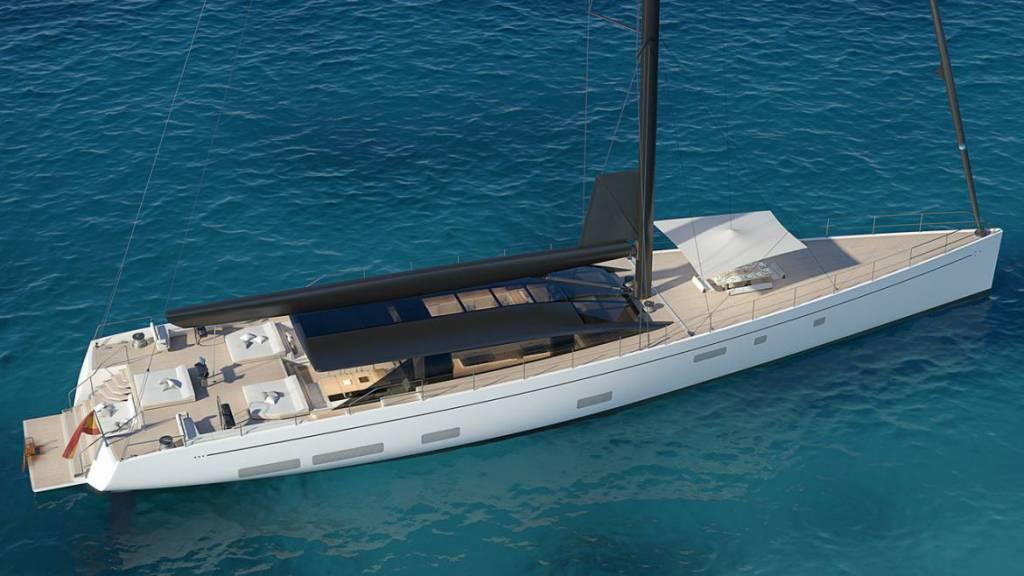 Perini Navi launches the second 42m E-Volution yacht