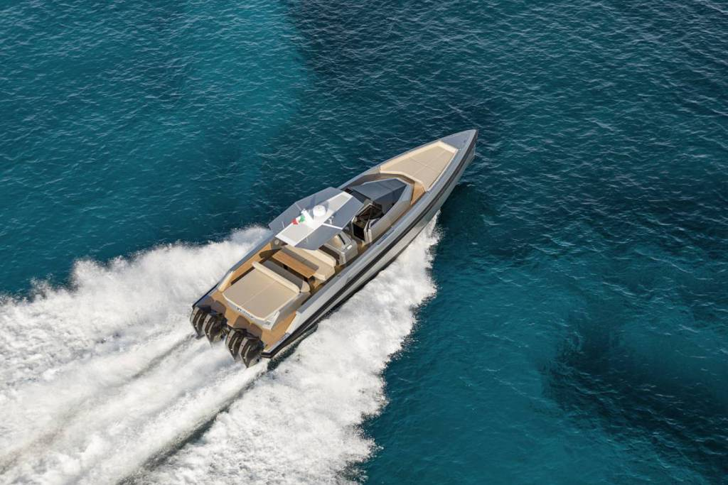 48 Wallytender X demonstrates 55 knots ahead of debut in Miami