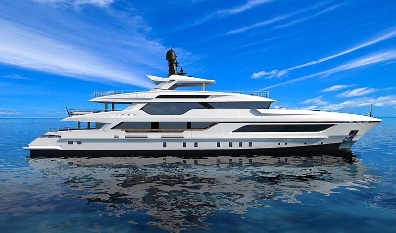 Baglietto sells the third 48m T-Line superyacht in South America