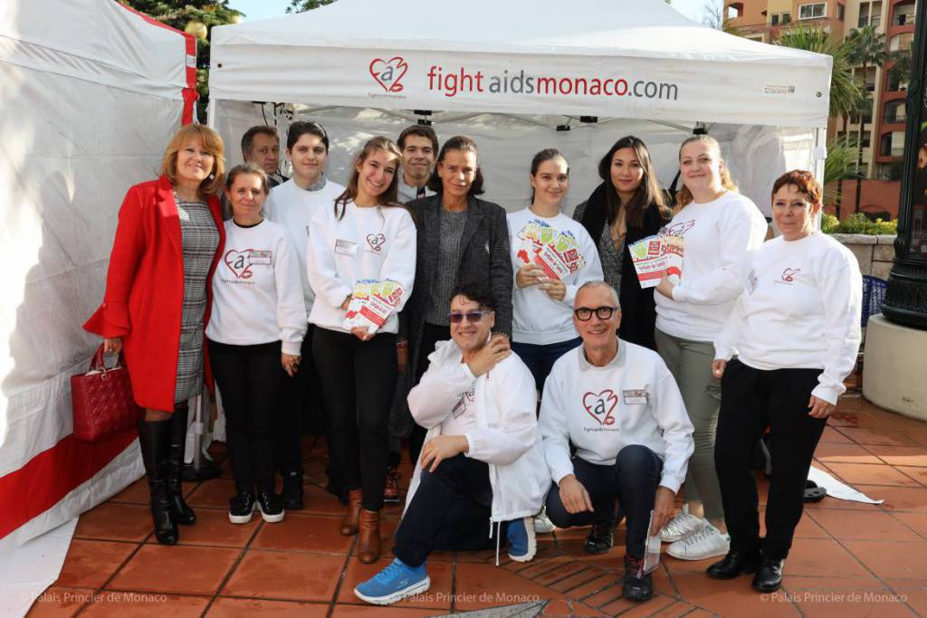Princess Stephanie attends 'Test in the City' for Fight Aids Monaco