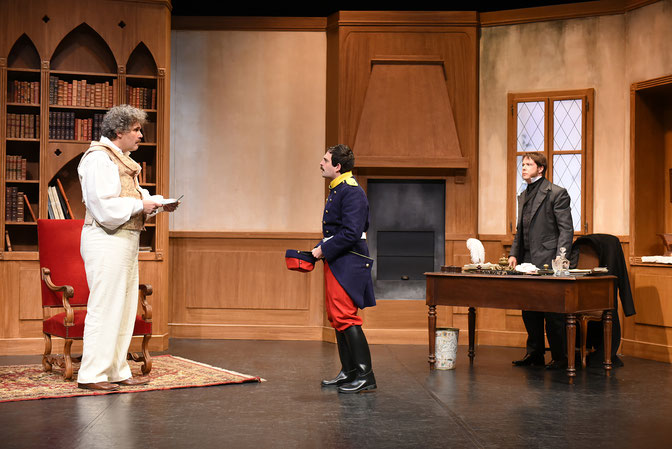 """""""Signé Dumas"""", a play by Cyril Gély and Eric Rouquette"""