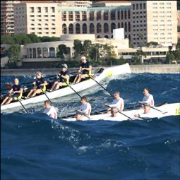 Regatta in Port Hercule