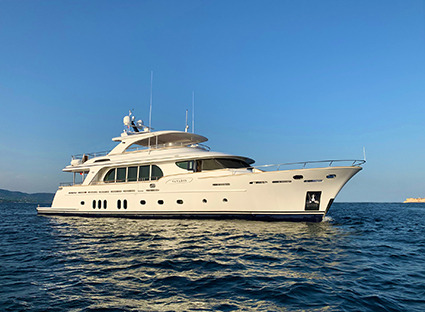 CCN M/Y VANADIS: the perfect blend of timeless style and a hi-tech soul
