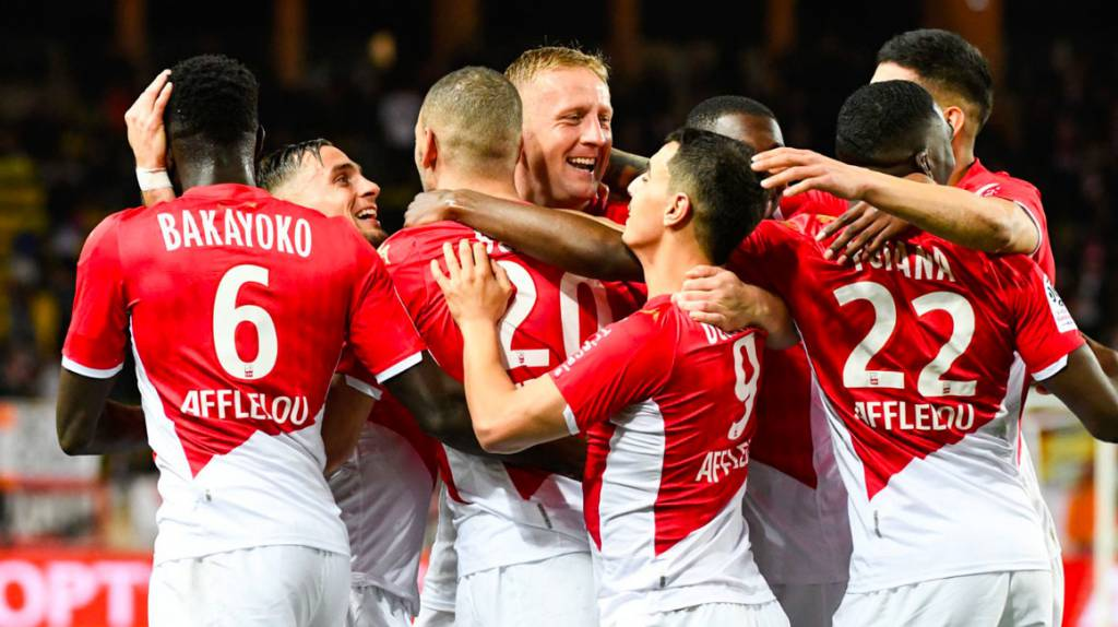 A third win in a row: AS Monaco brought a victory against Montpellier HSC