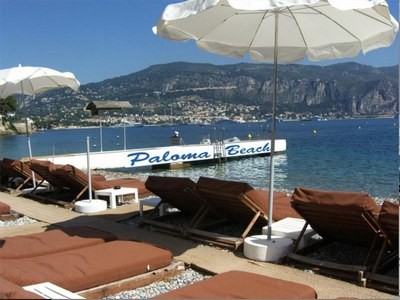 Photo of The beaches in the vicinity: Mala in Cap d'Ail, Paloma Beach in Cap-Ferrat