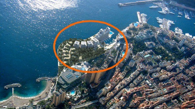 Portier is a new 6-hectar expansion project of the coastal zone towards the sea