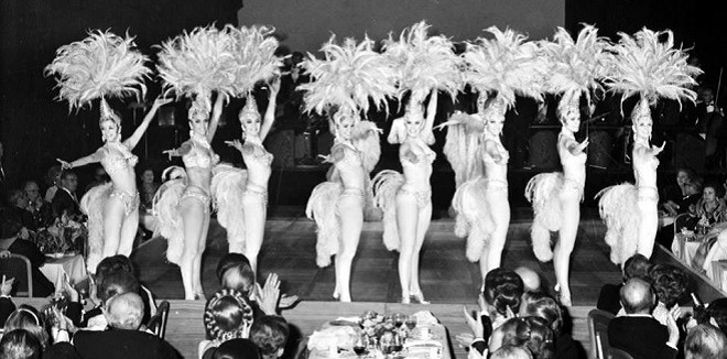 Dancers at the Ball de la Rose in 1970