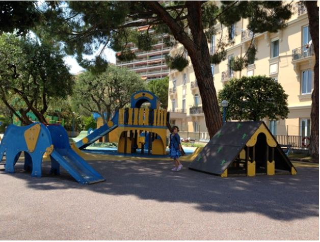 playground for children in the Principality of Monaco