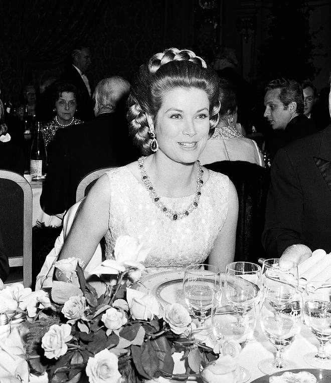 Princess Grace at the Ball de la Rose