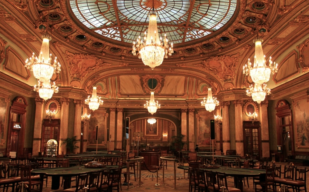 Interiors of Casino de Monte- Carlo