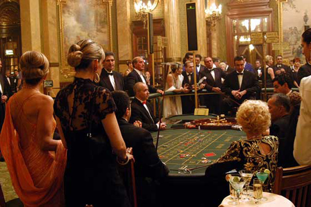 Guests of the Casino, gambling