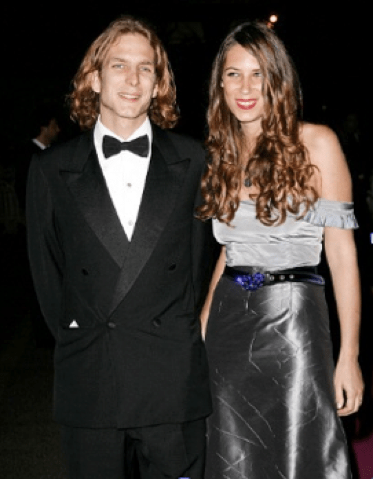 Andrea Casiraghi with Tatiana Santo Domingo