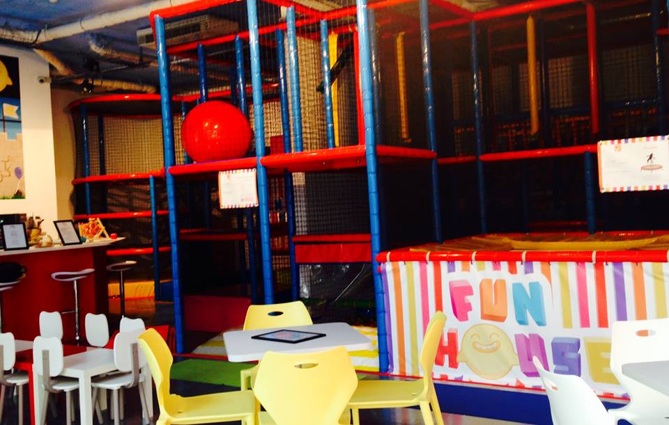 Funhouse for children in Monaco