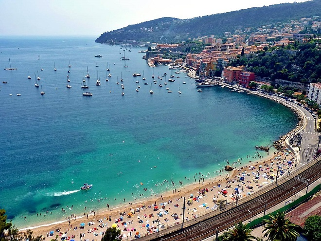 Marinières, Villefranche, French Riviera